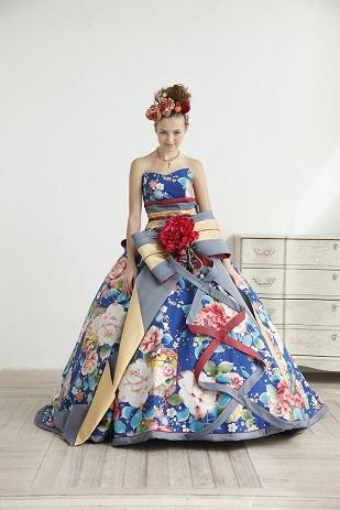 その中でも、シュガーケイの和柄ドレスは人気が高いのですが